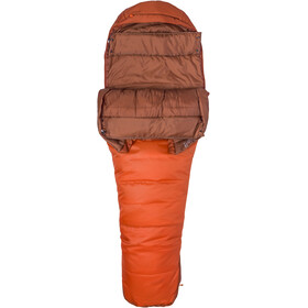 Marmot Trestles 0 Sleeping Bag, orange haze/dark rust
